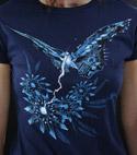 náhled - Fake Nature modré dámské tričko