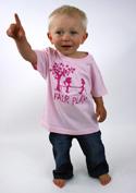 náhled - Fair play růžové dětské tričko