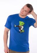 náhled - Mistr převleků modré pánské tričko
