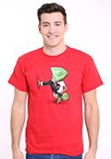 náhled - Mistr převleků červené pánské tričko