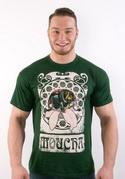 náhled - Moucha zelené pánské tričko