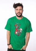 náhled - Rytíř zelené pánské tričko