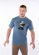 náhled - Já to neudělal modré pánské tričko