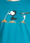 náhled - Nesprávný konec modré pánské tričko