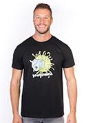 náhled - Fotobuňka černé pánské tričko