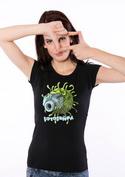 náhled - Fotobuňka černé dámské tričko