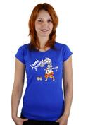 náhled - Změna modré dámské tričko
