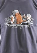 náhled - Kočičí hlavy pánské tričko