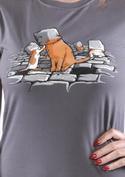 náhled - Kočičí hlavy dámské tričko