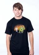 náhled - Venčení draka pánské tričko