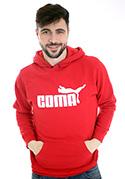 náhled - Coma červená pánská mikina