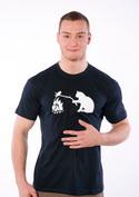 náhled - Kočka a myš pánské tričko