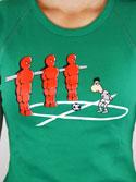 náhled - Fotbálek dámské tričko
