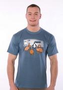 náhled - Ptačí terapie pánské tričko