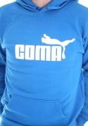 náhled - Coma modrá pánská mikina