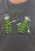 náhled - Granáty dámské tričko