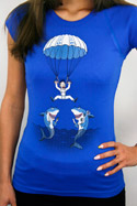 náhled - Seskok dámské tričko