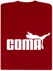 Detail návrhu Coma červené