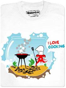Detail návrhu I love cooking