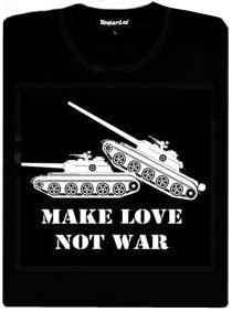 Detail návrhu Make love not war
