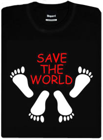 Detail návrhu Save the world