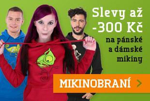 Mikiny až -300 Kč