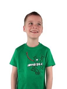 Dětské tričko Chameleon