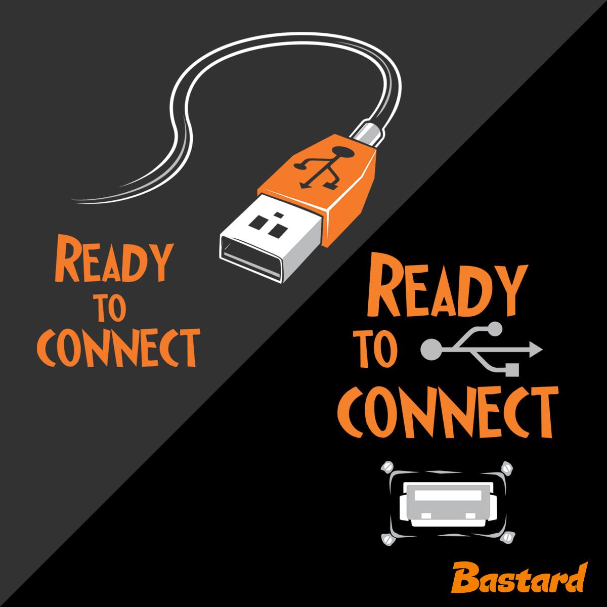 USB připojení