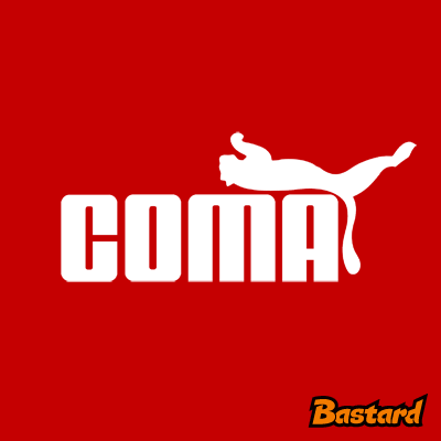 vtipný potisk - Coma