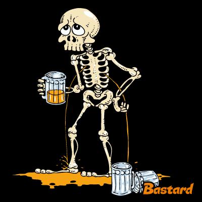 Kosťa potisk