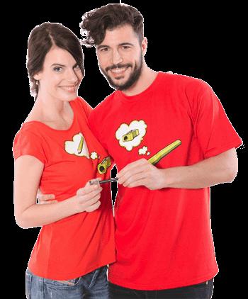 Tužka a ořezávátko tričko
