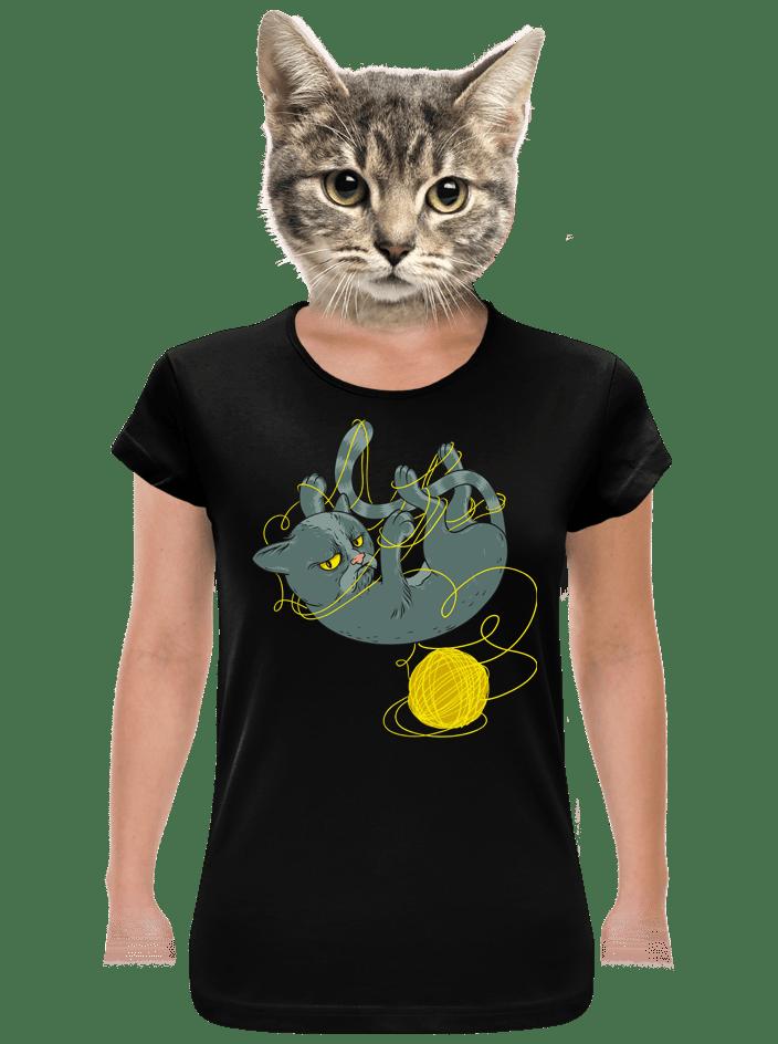 Nevrlý kocour dámské tričko
