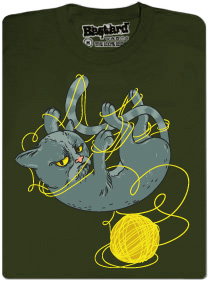 Pánské tričko Nevrlý kocour