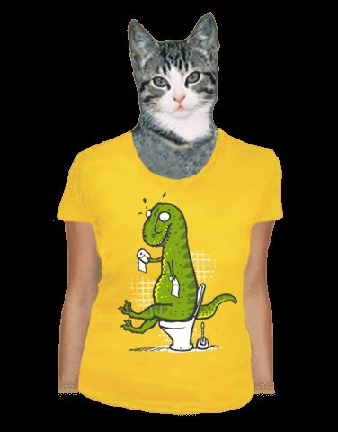 Rexíkův problém žluté dámské tričko