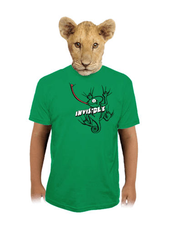 Chameleon dětské tričko
