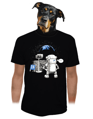 Kosmonaut pánské tričko