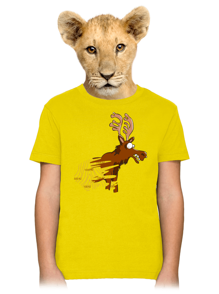 Stírací los dětské tričko