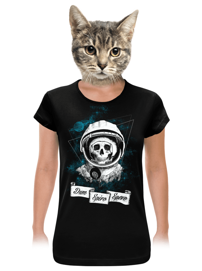 Dum Spiro Spero dámské tričko klasik