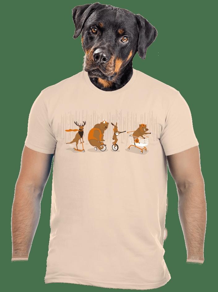 Mejdan v lese pánské tričko