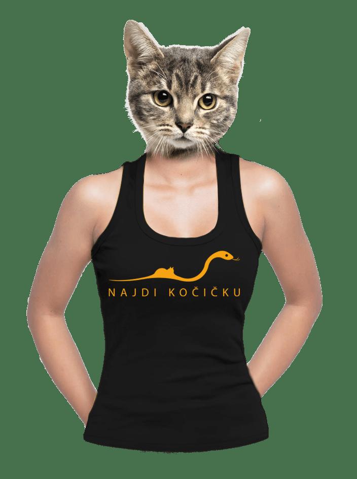 Najdi kočičku dámské tílko
