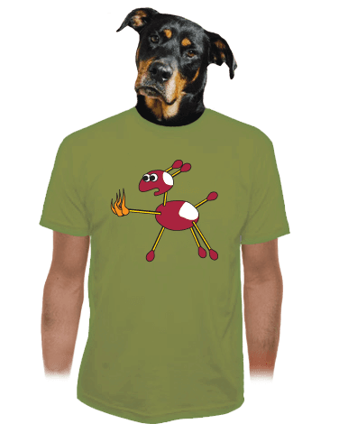Kaštany pánské tričko