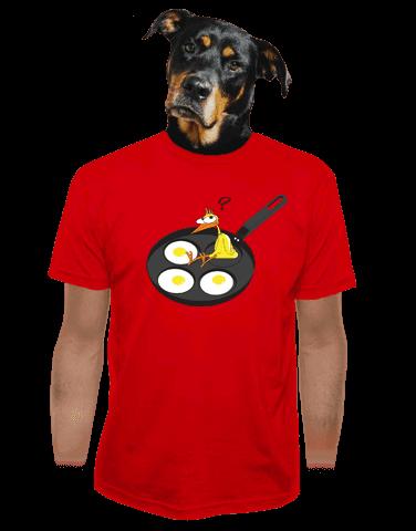 Kuře pánské tričko