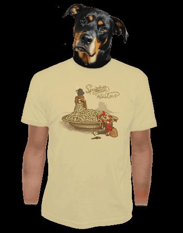 Spaghetti Western pánské tričko