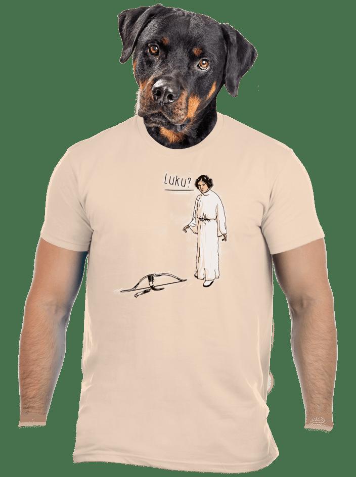 Luke a Leia pánské tričko