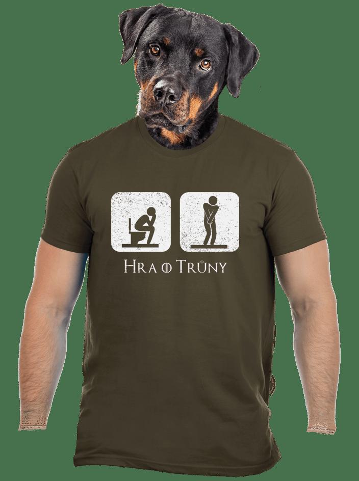 Hra o trůny zelené pánské tričko