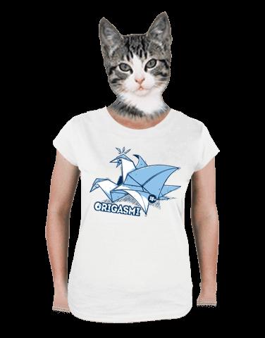 Origasmi dámské tričko