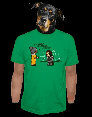 You Know Nothing pánské tričko
