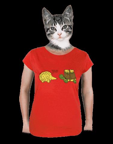 Želva s ježkem dámské tričko