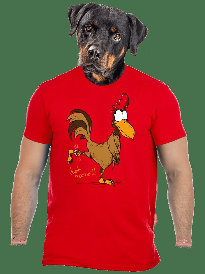 Novomanželé pánské tričko