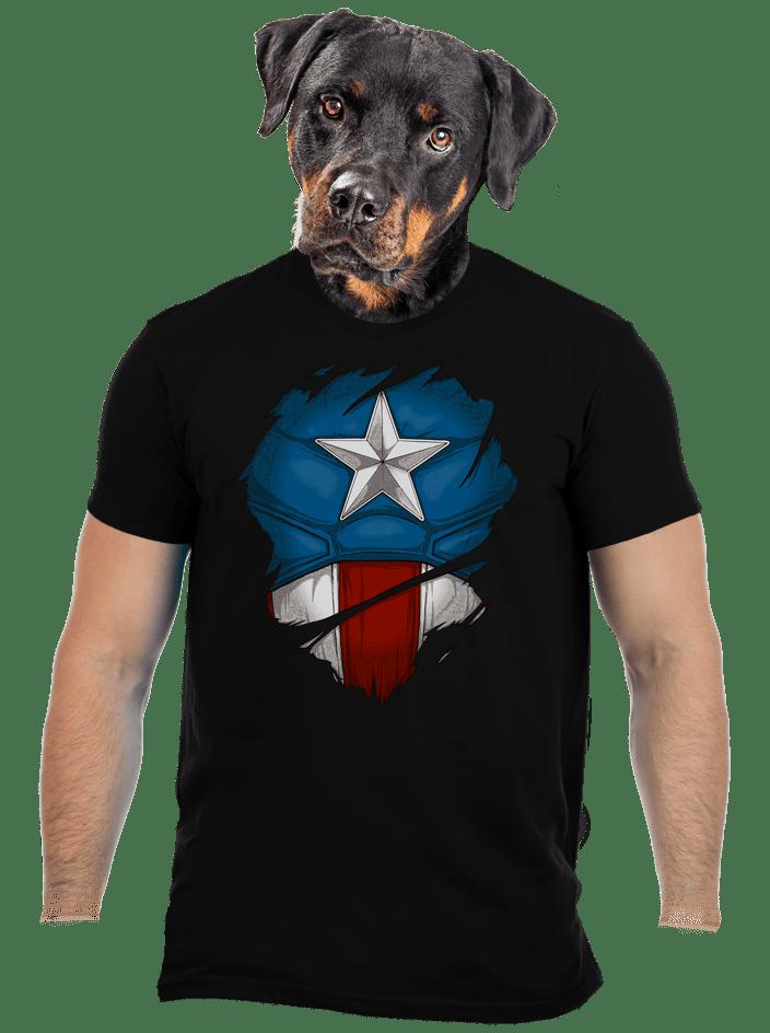 Captain Inside pánské tričko